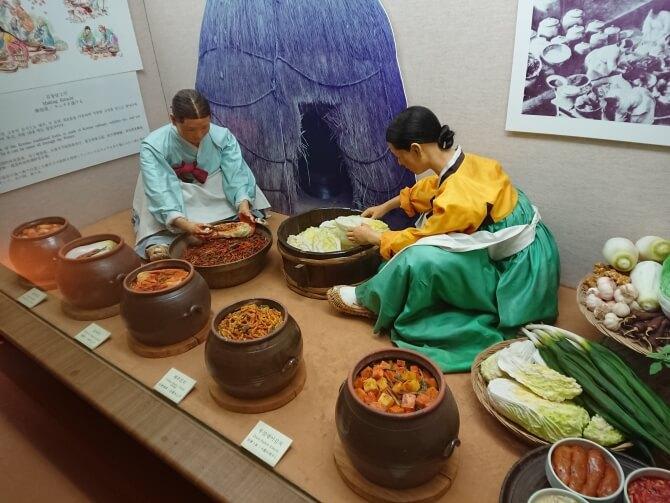 韓国民俗村の博物館
