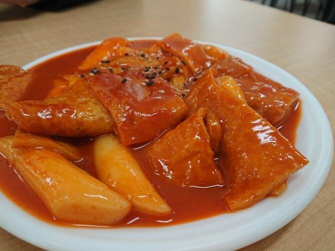 韓国民俗村の食べ物