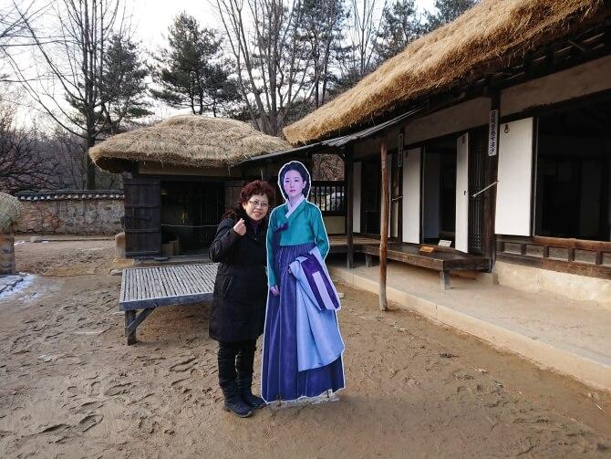 韓国民族村のドラマロケ地