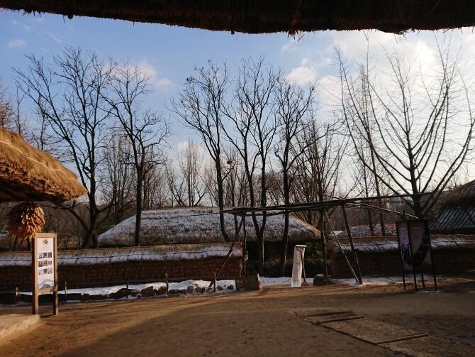 韓国民俗村の写真