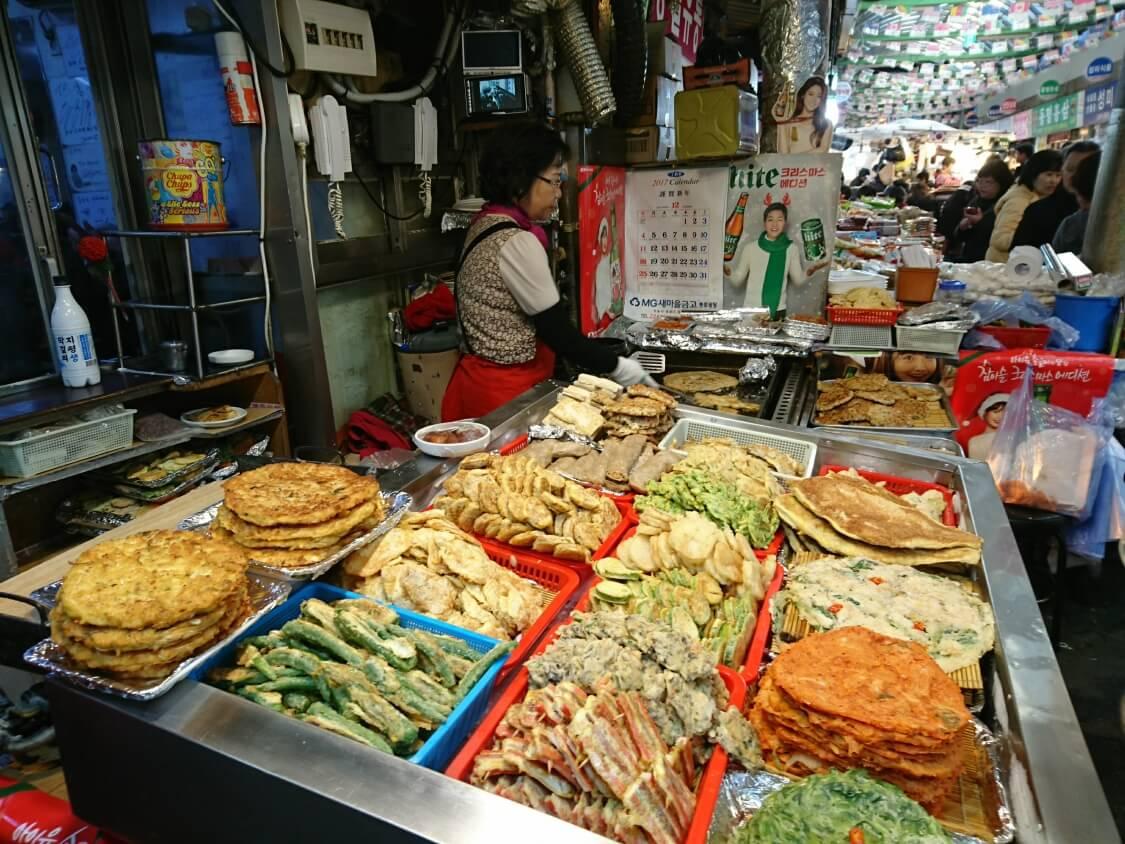 韓国の正月料理:ジョンの写真