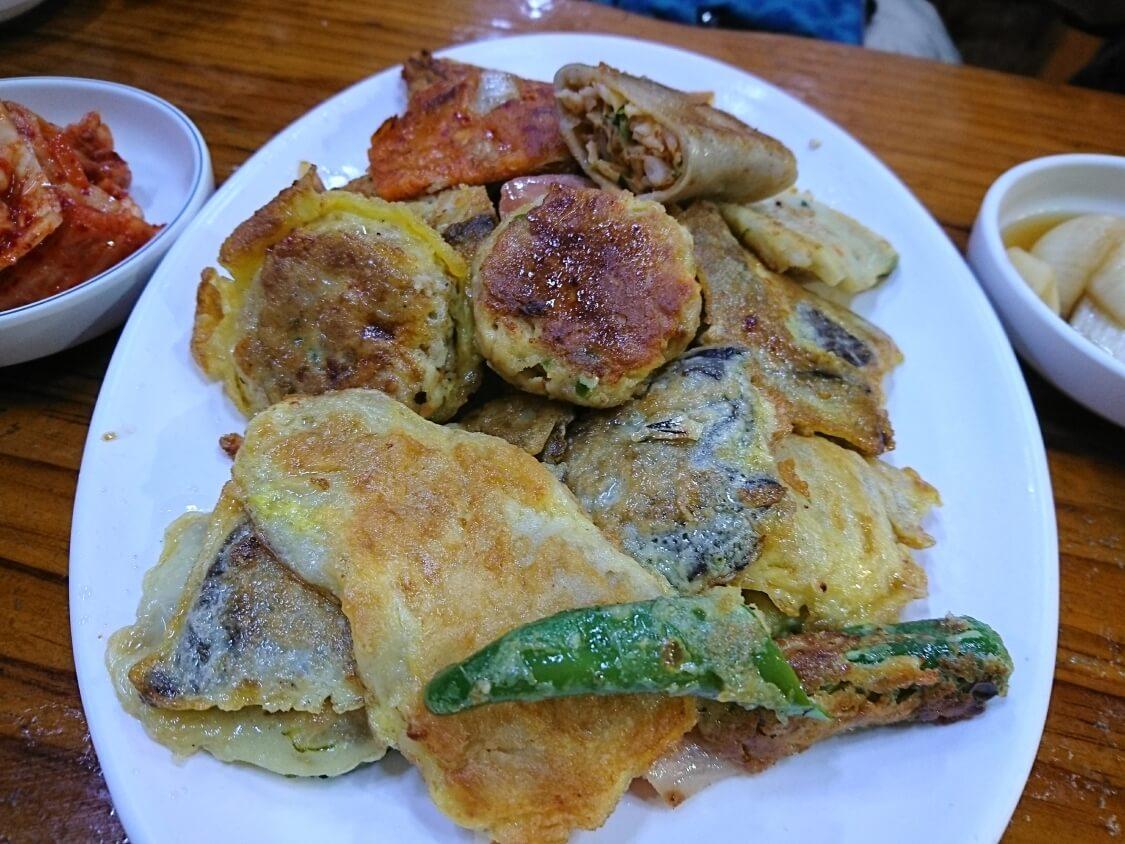 韓国の正月料理:ジョン・チヂミの写真