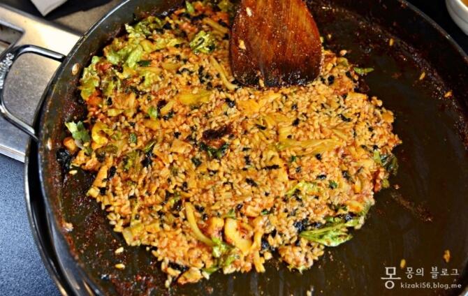 オグンネ タッカルビの炒めご飯