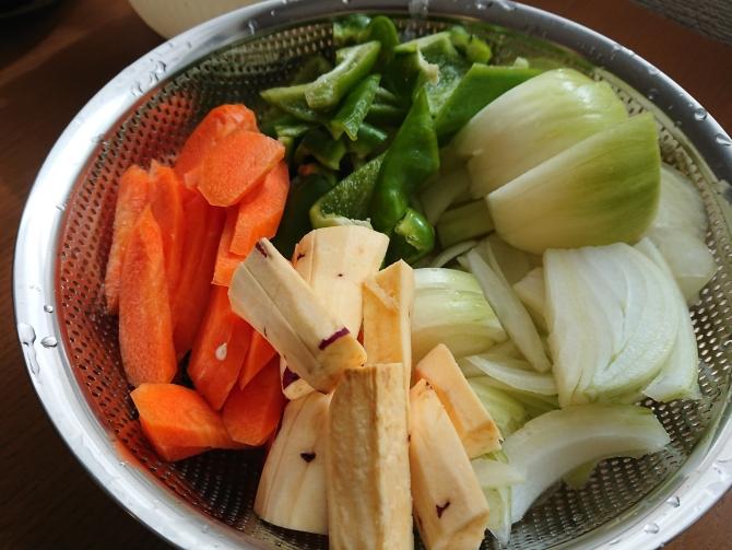 チーズタッカルビのレシピ2