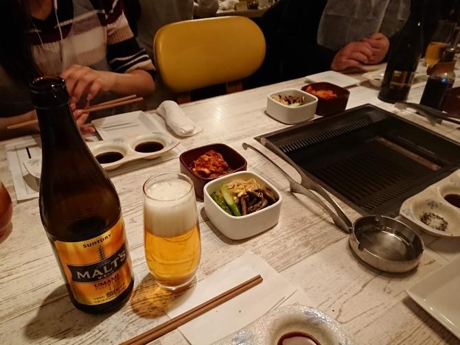 新宿の焼肉屋『エイジング・ビーフTOKYO』のレポート1