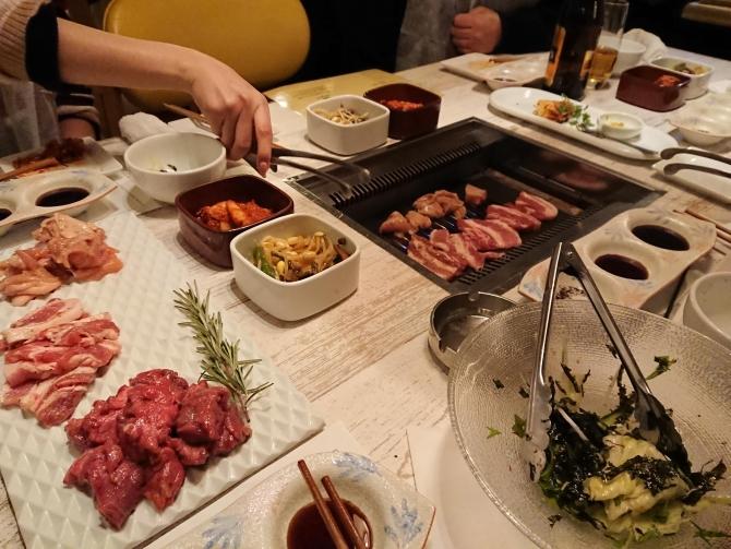 新宿の焼肉屋『エイジング・ビーフTOKYO』のコース4