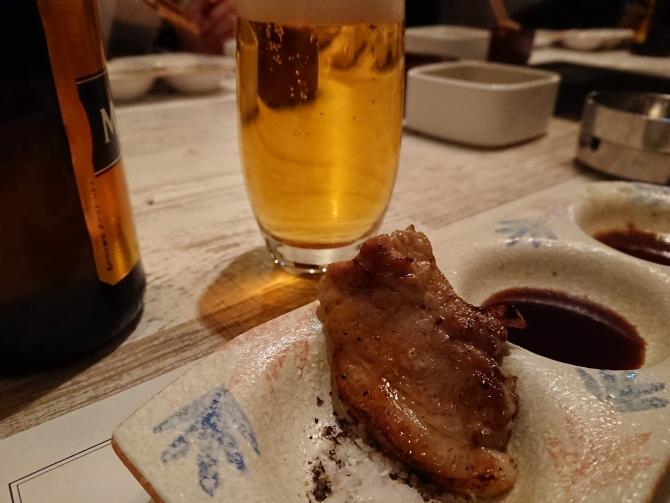 新宿の焼肉屋『エイジング・ビーフTOKYO』のコース6