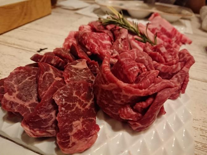 新宿の焼肉屋『エイジング・ビーフTOKYO』のコース7