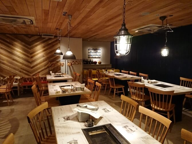 新宿の焼肉屋『エイジング・ビーフTOKYO』おしゃれ