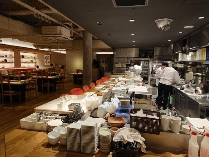 新宿の焼肉屋『エイジング・ビーフTOKYO』清潔