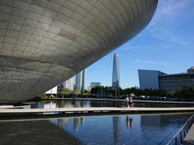 仁川の松島(ソンド)観光写真