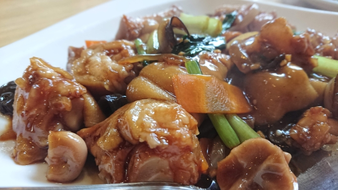 中華の豚足