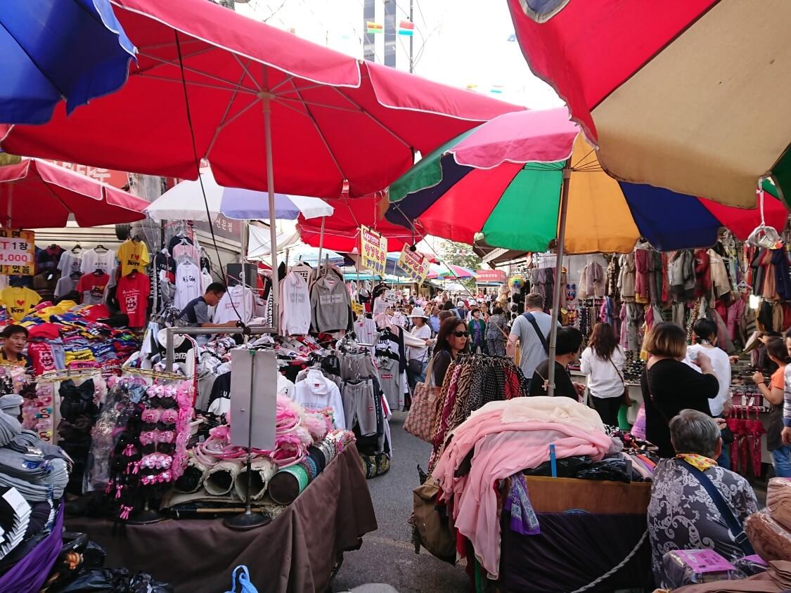 南大門市場の風景