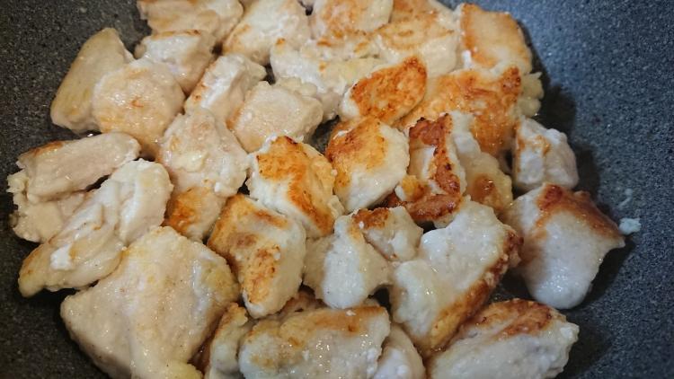 ヤンニョムチキンのレシピの写真