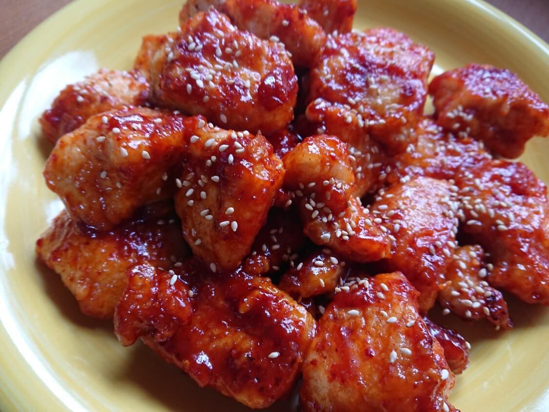 ヤンニョムチキンのレシピ