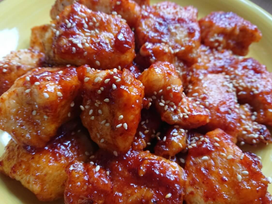ヤンニョムチキンの韓国レシピ