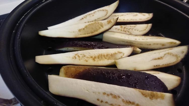 なすのナムルの作り方(韓国レシピ)の写真