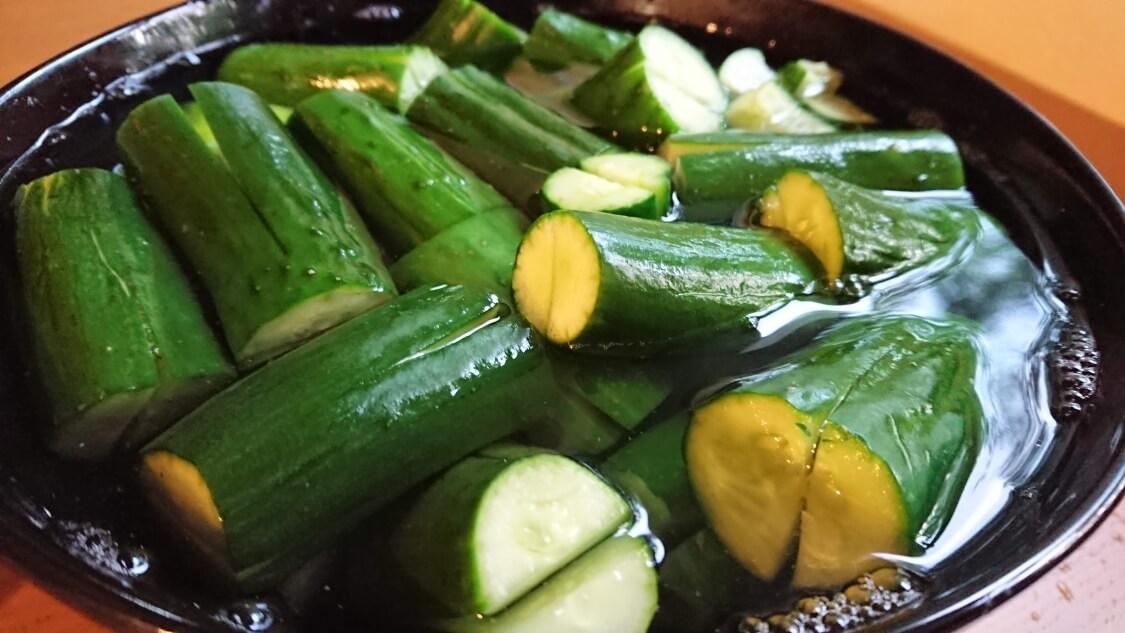 本格オイキムチの作り方。きゅうりの切り方