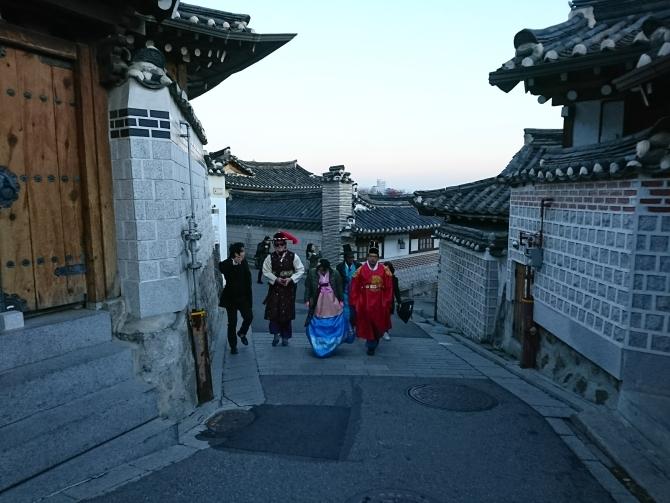 ソウルの観光写真(北村韓屋村)