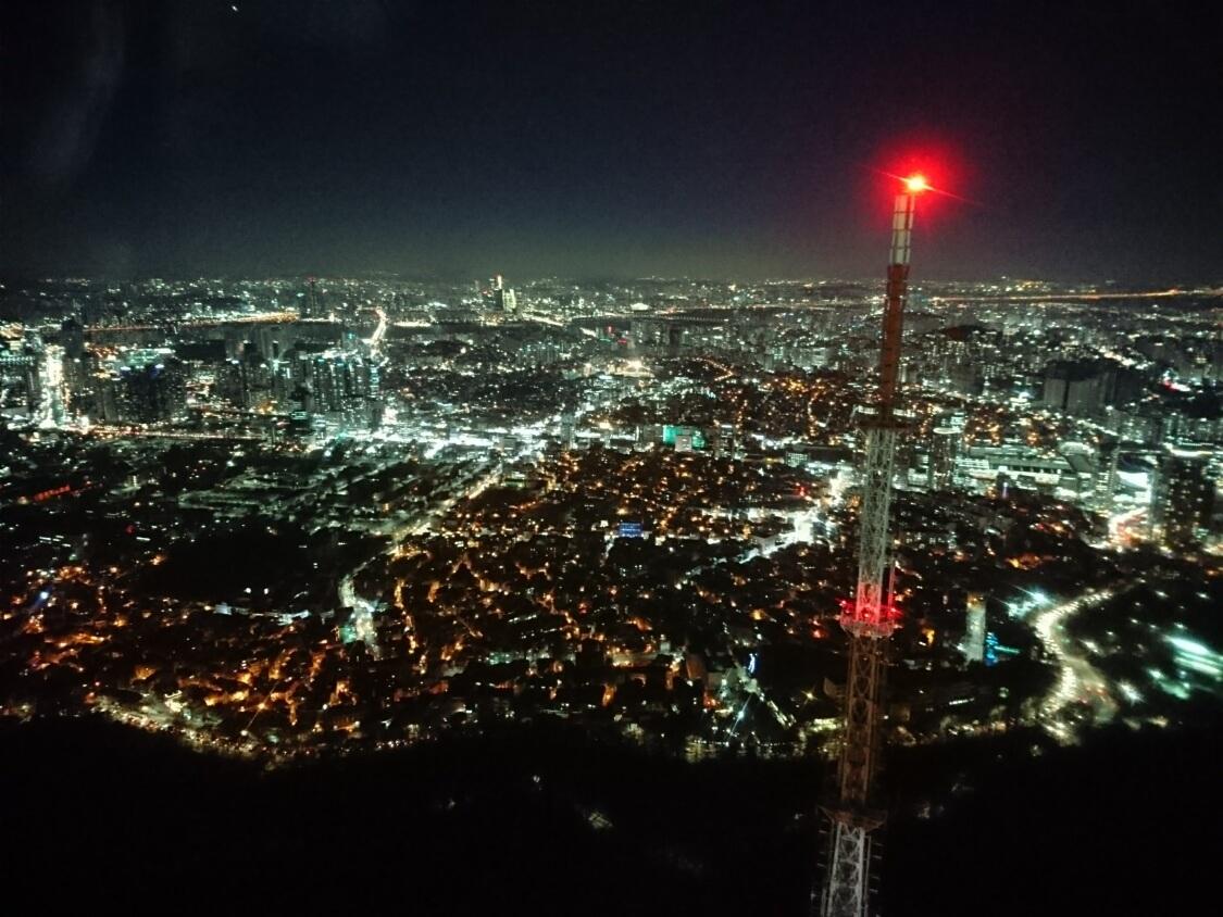 ソウルの観光写真(ソウルタワー)