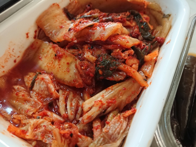 韓国の白菜キムチの写真