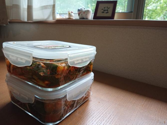 オイキムチレシピの作り置き写真
