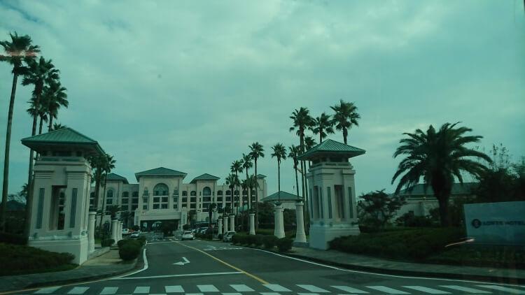 チェジュ島旅②:ロッテホテル写真