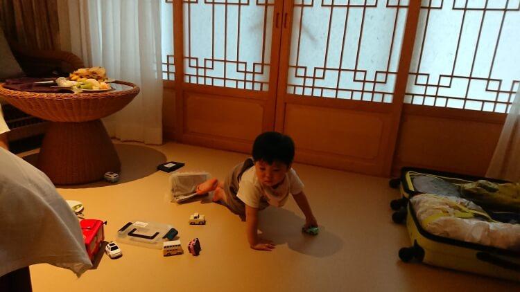 チェジュ島旅②:ロッテホテルの部屋写真