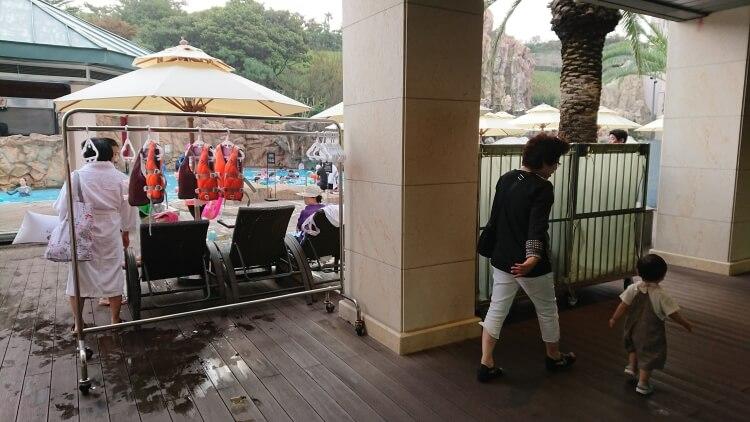 チェジュ島旅②:ロッテホテルのプール写真