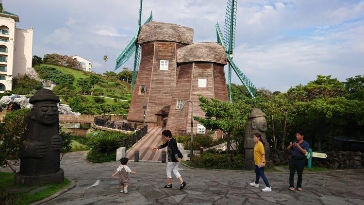 チェジュ島旅②:ロッテホテルの周辺写真