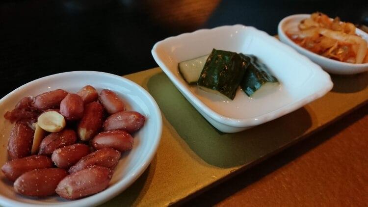 チェジュ島旅②:ロッテホテルの食事写真
