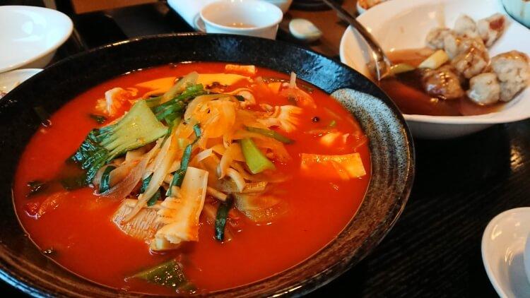 チェジュ島旅②:ロッテホテルの夕食写真