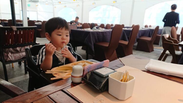 チェジュ島旅②:ロッテホテルの朝食写真