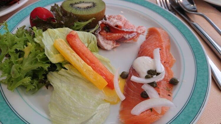 チェジュ島旅②:ロッテホテルの朝食ビュッフェ写真