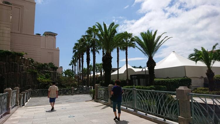 チェジュ島旅②:ロッテホテルの周辺景色と散歩写真