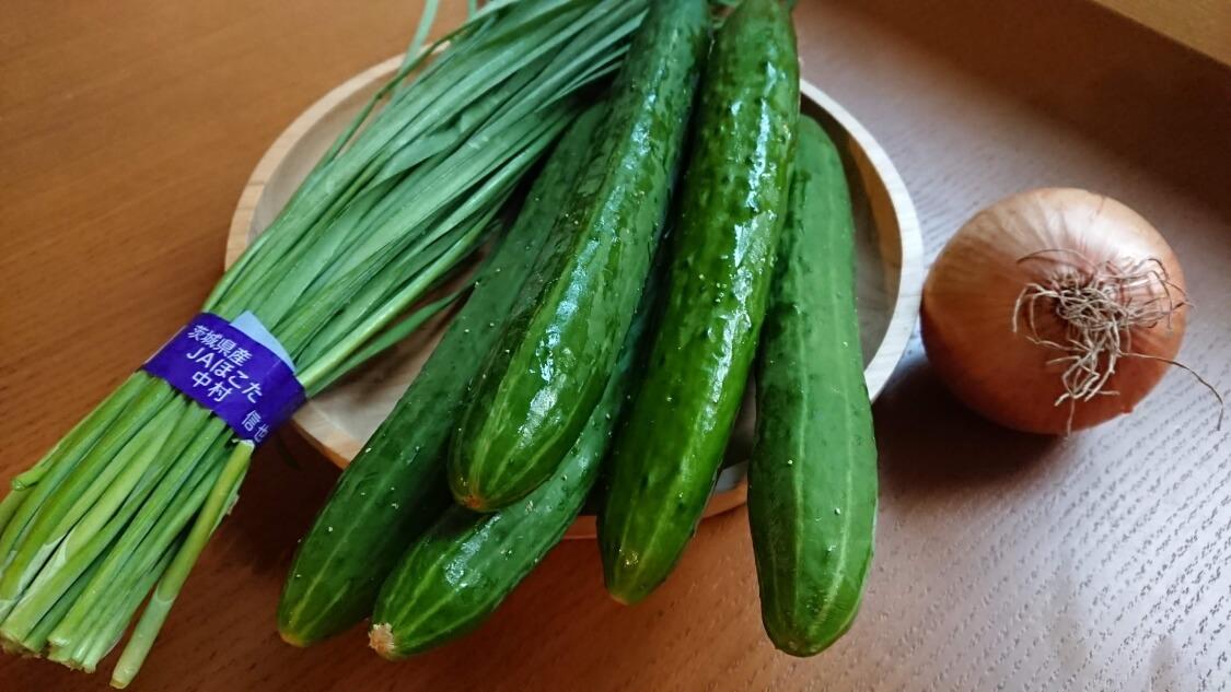 きゅうりキムチ(オイキムチ)のレシピ材料