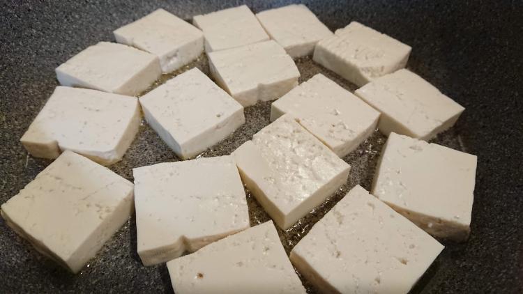 韓国家庭料理:豆腐のおかずのレシピ写真