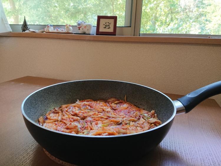 韓国家庭料理:豆腐のおかずの写真