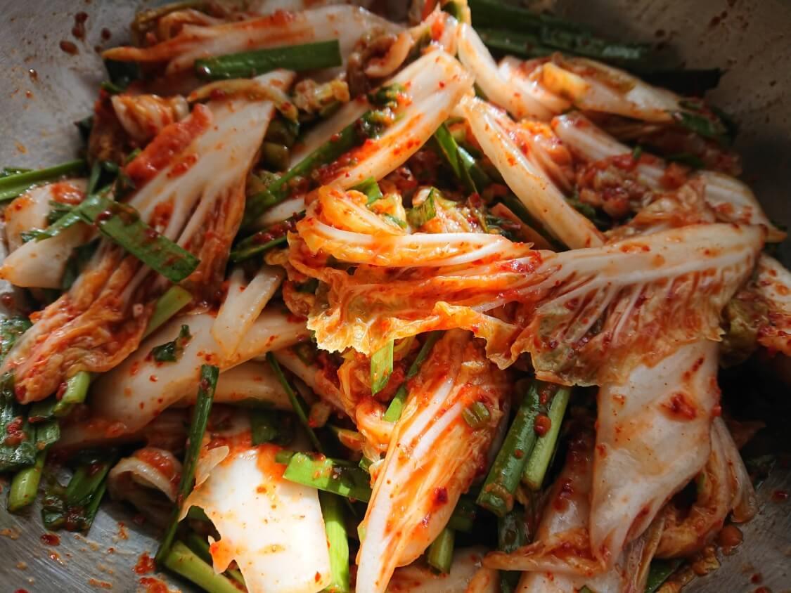 白菜キムチ(韓国式浅漬けコッチョリ)の作り方