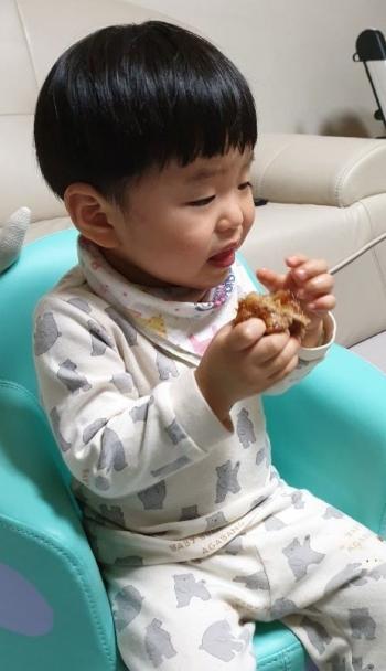 韓国の豚足「チョッパル」を初めて食べた時の写真