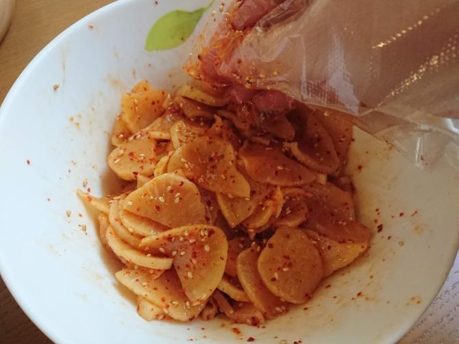 たくあんを活用した韓国定番リメイクおかずの簡単レシピ