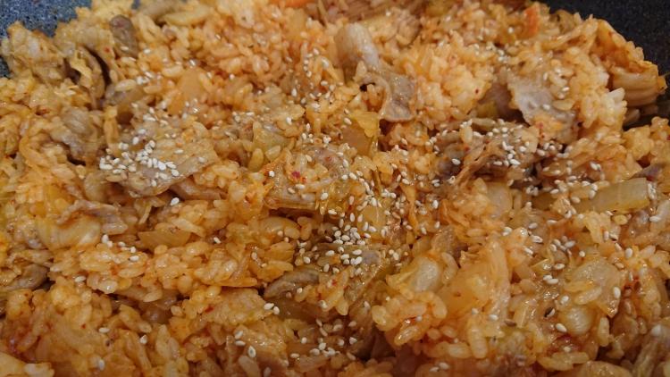 豚キムチチャーハンの簡単レシピ