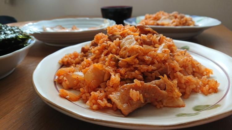 キムチチャーハンの簡単レシピ