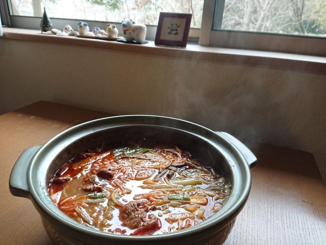 韓国の本格味!ユッケジャンの簡単レシピ:完成