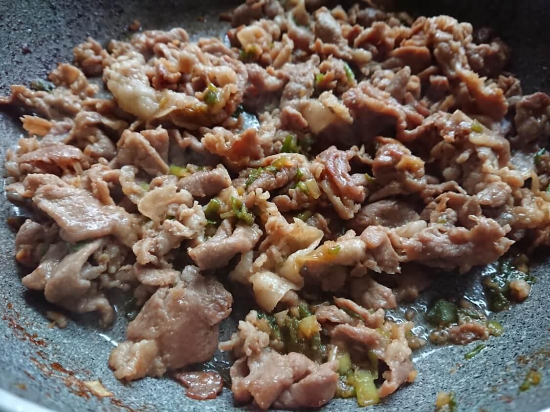 豚肉プルコギのレシピ