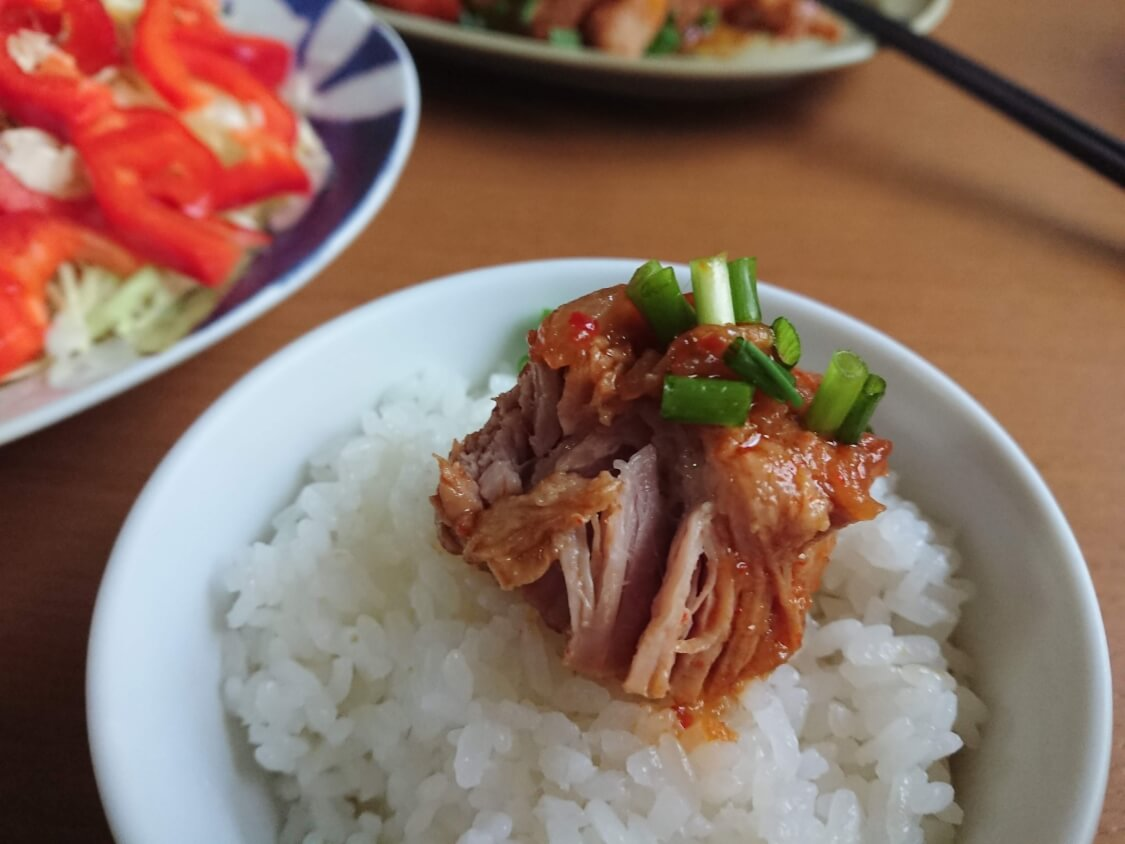 白いご飯がすすむ韓国料理カルビチム