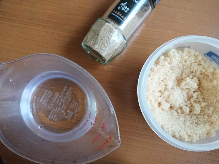 韓国で人気のケランチム(茶碗蒸し)のレシピ調味料