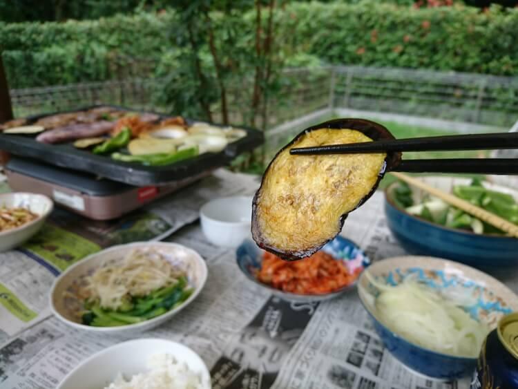 家で食べたサムギョプサル