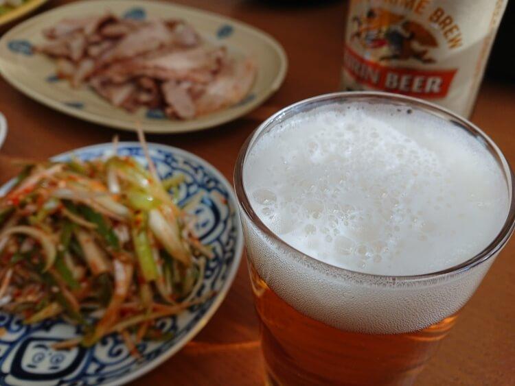 サムギョプサルのお酒