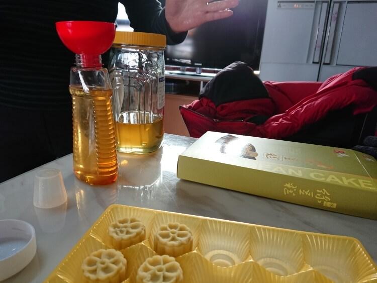 韓国の蜂蜜